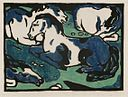 Horses Resting by Franz Marc.jpeg