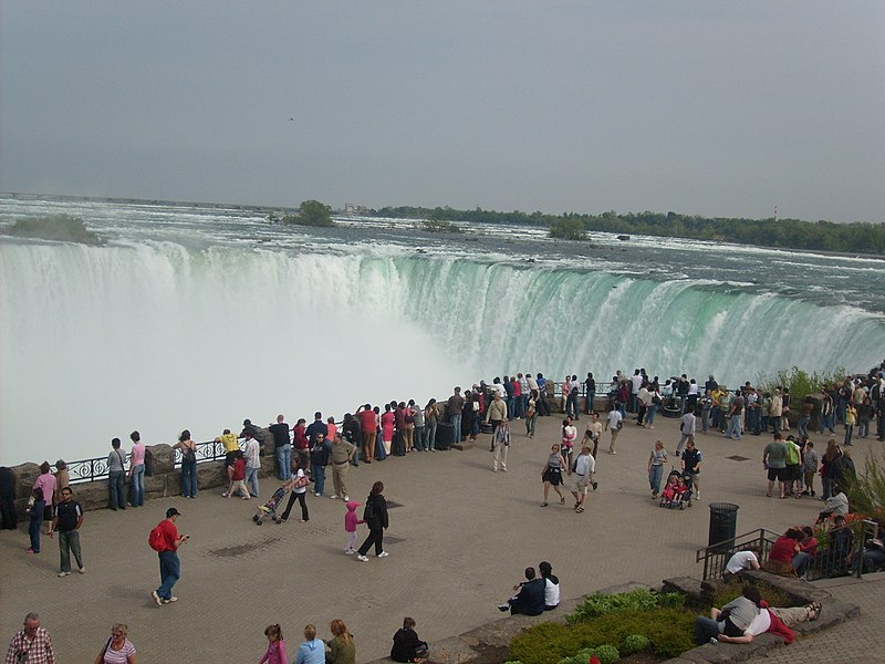 Niagara Falls em Toronto no inverno