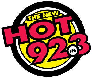 CFRK-FM - Image: Hot 923logo