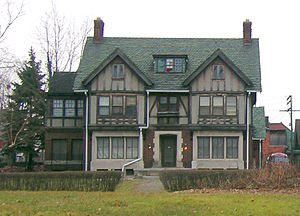 Arden Park–East Boston Historic District - A typical house in the Arden Park–East Boston neighborhood.