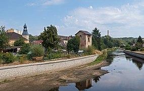 Hrádek nad Nisou, stadszicht vanaf de brug over de Neisse IMG 7295 2018-08-09 13.21.jpg