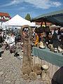 Hrnčířské trhy Beroun 2011, výtvor z kameniny.JPG