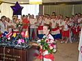 Hrvatski olimpijci Lucija Zaninovic Zracna luka Zagreb 13 082012 roberta f.jpg