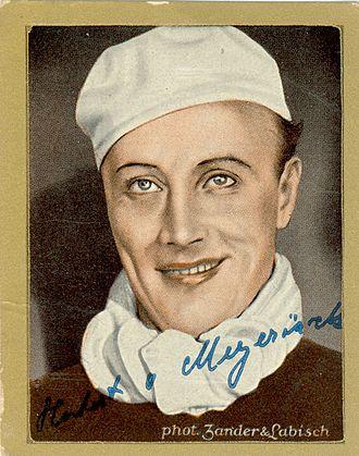 Hubert von Meyerinck - picture from 1933