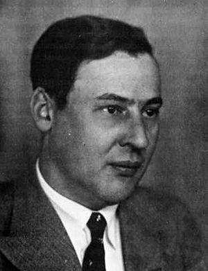 Erich Hückel - Erich Hückel in 1938