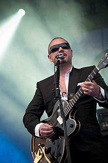 Huey Morgan American musician (born 1968)
