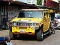 Hummer H2 in Songshan District, Taipei 20140715a.jpg