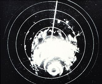 Hurricane Carla - Radar image of Carla from WSR-57 in Galveston, Texas