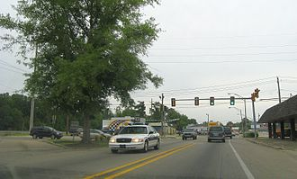 Picayune, Mississippi - Highway 11 and Fourth Street