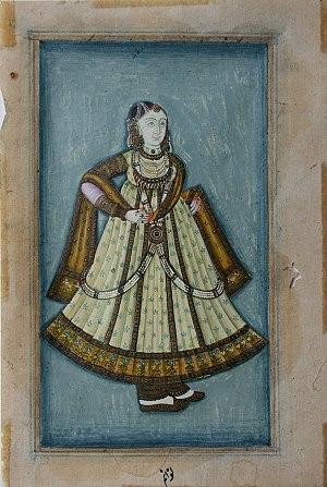 Mah Laqa Bai - Portrait of Mah Laqa Bai