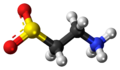Hypotaurine zwitterion ball.png