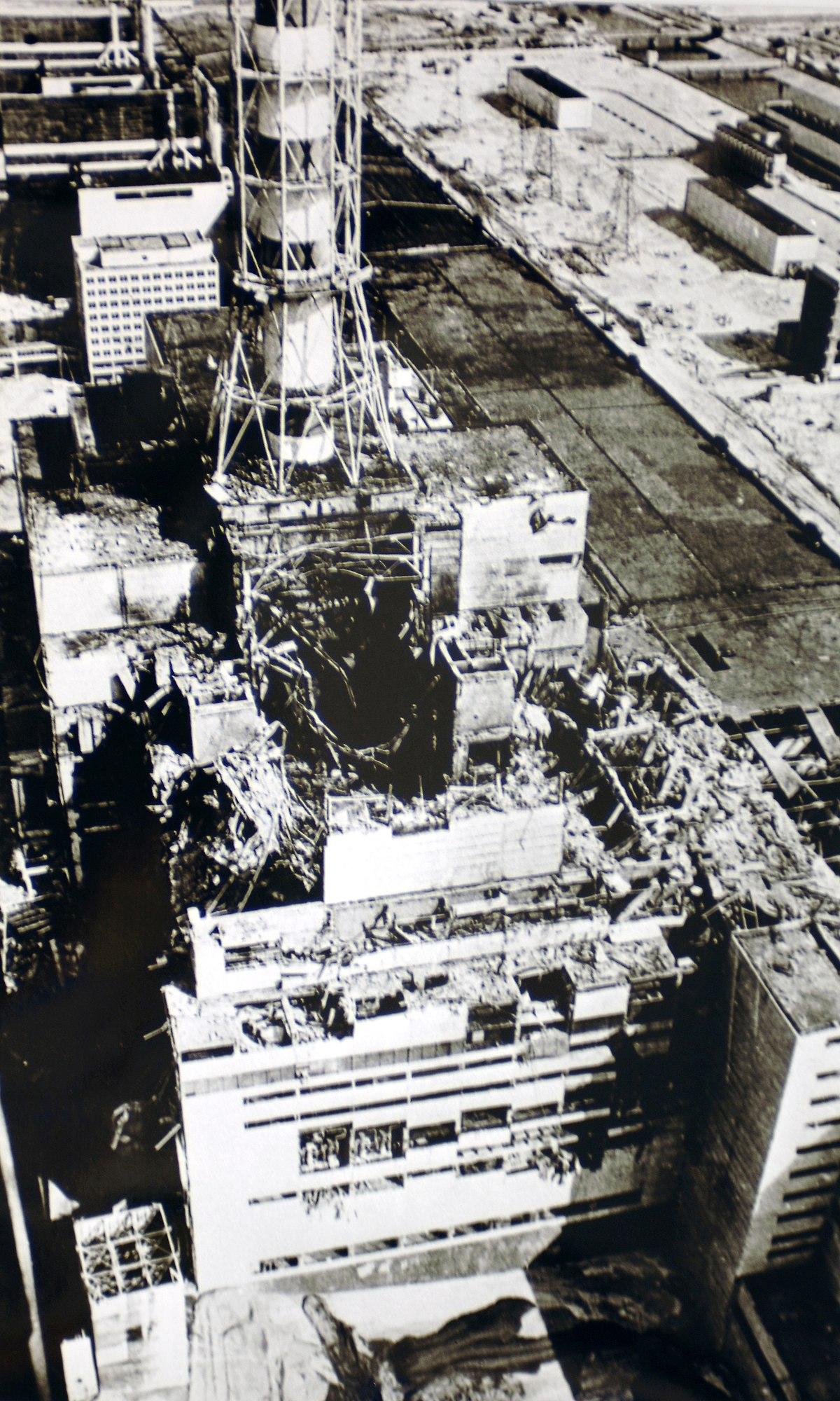 Catastrophe Nucleaire De Tchernobyl Wikipedia
