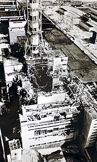 Chernobyl disaster 1986 nuclear accident in Ukrainian SSR