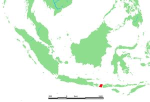 Lage von Lombok
