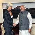 IMF MD Christine Lagarde meets Prime Minister Narendra Modi.jpg