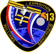 ISS Expedition 13 patch