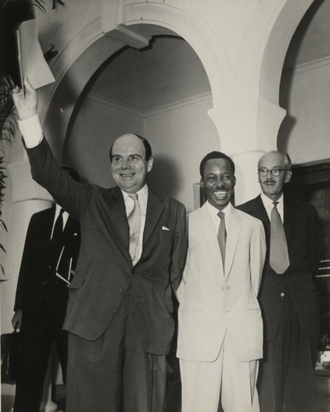 Iain Macleod - Macleod and Julius Nyerere at the Constitutional Conference, Tanganyika, March 1961