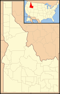 Location of Heyburn State Park in Idaho