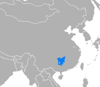 Xiang Chinese - Image: Idioma xiang