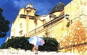 Monforte del Cid - Church in 1994