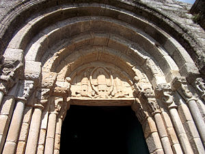 Monastery of Rates - Main portal