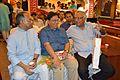 Imdadul Haq Milon - Nabakumar Basu - Samares Mazumdar - Kolkata 2015-10-10 5178.JPG