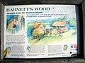 Information board for Barnett's Wood Farm - geograph.org.uk - 2136475.jpg