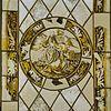 interieur, gereconstrueerd glas in loodraam met gebrandschilderd glas - dronrijp - 20337700 - rce