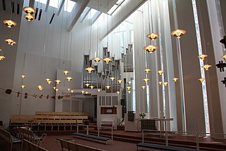 2002 in architecture - Image: Interior of Church of the Good Shepherd Helsinki 07