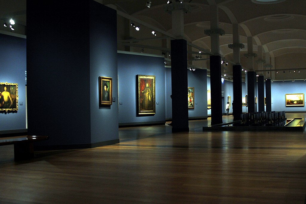 Interior of Gemäldegalerie - Berlin - Germany 2017.jpg