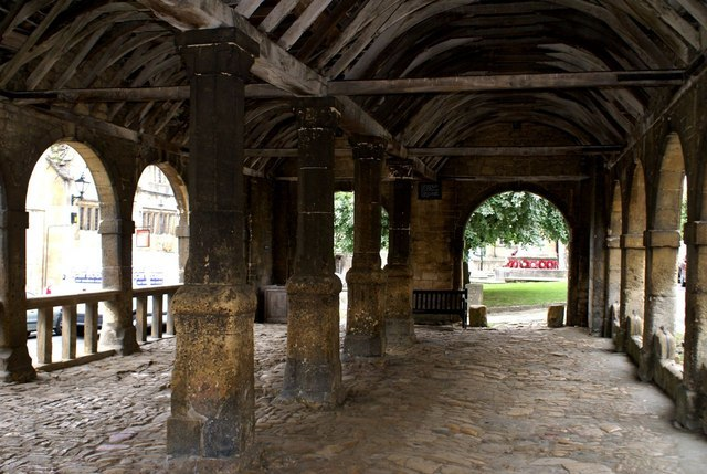 Interior of Market Hall - geograph.org.uk - 966178