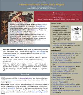 International Music Score Library Project screenshot, en.png