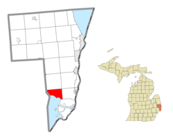 Location within St. Clair County