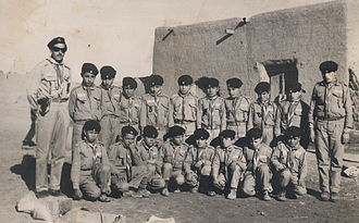 Iran Scout Organization - Iranian Scouts in Lalejin, Hamadan Province in the early 1960s