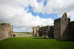 Roscommon Castle ruins