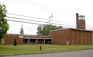 South Dundas, Ontario - Iroquois library and fire station