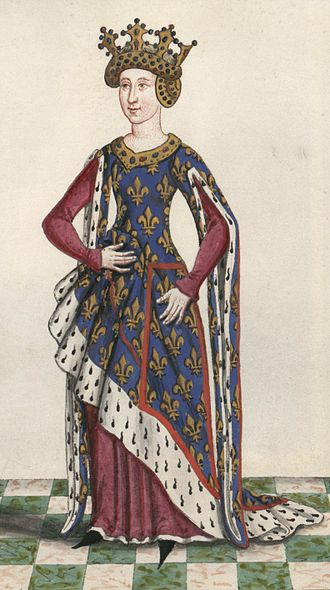 Isabella of Valois, Duchess of Bourbon - Image: Isabella of Valois (1313 1388)