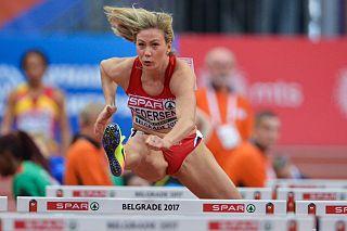 Isabelle Pedersen Norwegian hurdler