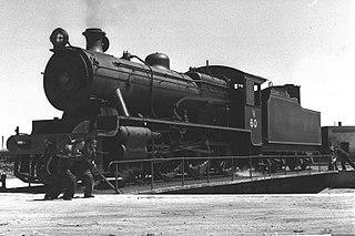class of 6 Palestinian 4-6-0 locomotives