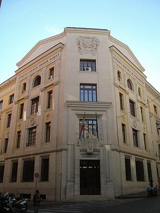 National Institute of Statistics (Italy) - Image: Istituto nazionale di statistica
