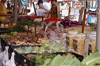 Italian Market, Philadelphia - Image: Italian Market Vegetables 3000px