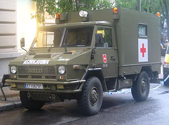 Iveco VM 90 - Iveco-Pegaso 40.10WM of the Spanish Army.