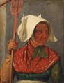 Jørgen Roed - En høstpige. Studie - 1850.png