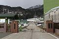 JASDF Sado Sub Base Main Gate.JPG