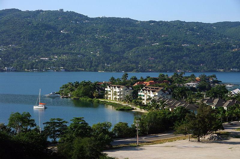 Cidades turísticas na Jamaica