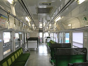 JR Shikoku 1200 series - Image: JRS DC 1200 1251 inside