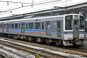 JR Shikoku 6000 series - Image: JRS EC 6001 20010113