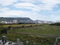 JR Shikoku Kotoku line crossing Kasuga river.jpg