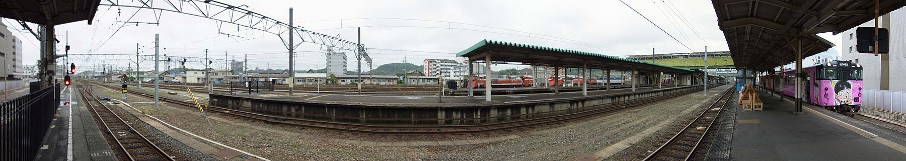JR Yonago station , JR 米子駅 - panoramio (5).jpg
