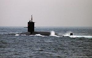 JS Yukishio (TSS-3605) at SDF Fleet Review, -29 Oct 2006 a.jpg